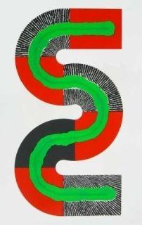 Lithographie Sugai - S-Octobre