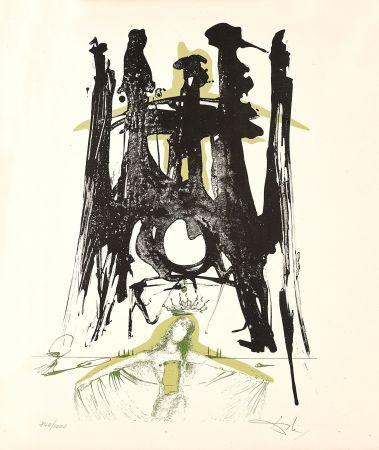 Lithographie Dali - Sagrada Familia