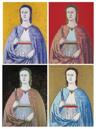 Siebdruck Warhol - Saint Apollonia Complete Portfolio