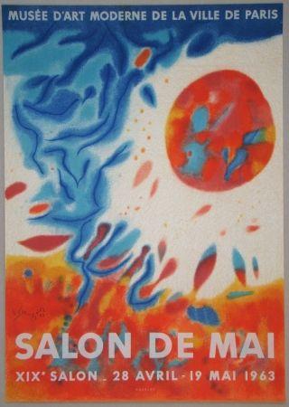 Lithographie Singier - Salon De Mai