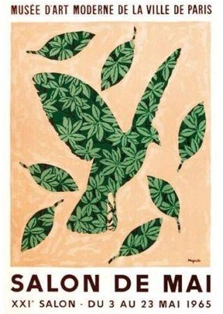 Plakat Magritte - Salon de mai 1965