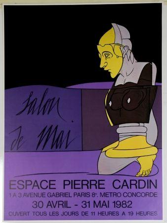Offset Adami - Salon De Mai   Espace Pierre Cardin