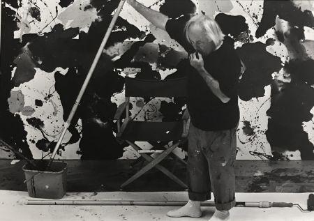 Fotografie Blum - Sam Francis in his studio