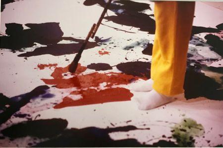Fotografie Blum - Sam Francis painting