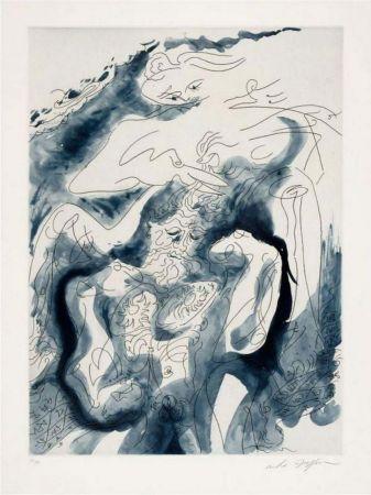 Radierung Und Aquatinta Masson - Samson et Dalida