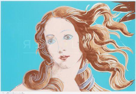 Siebdruck Warhol - Sandro Botticelli, Birth Of Venus, 1482 (Fs Ii.319)