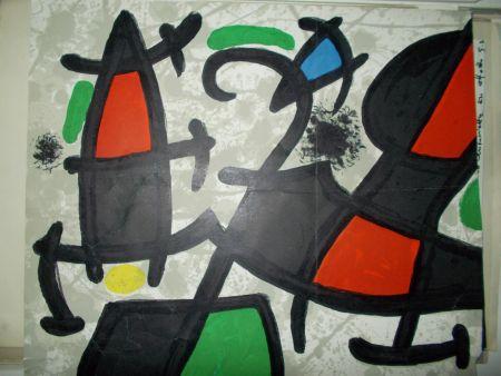 Lithographie Miró - Sans