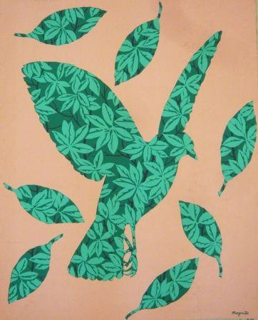 Siebdruck Magritte - Sans titre