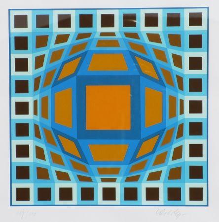Siebdruck Vasarely - Sans titre