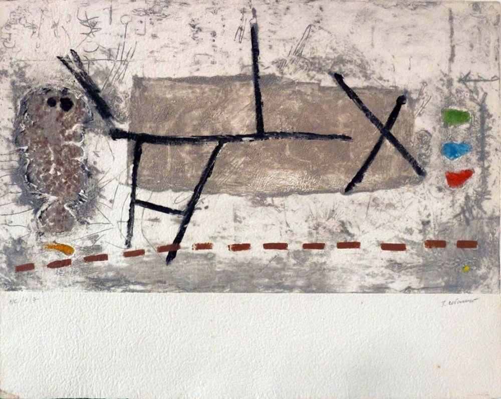 Lithographie Coignard - Sans titre