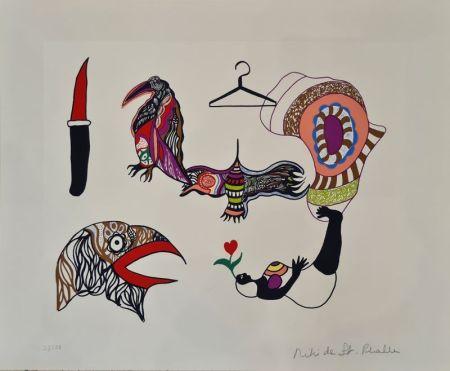Lithographie De Saint Phalle - Sans titre