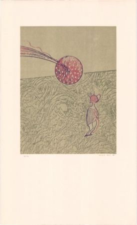 Lithographie Ernst - Sans titre
