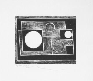 Holzschnitt Nicholson - Sans titre