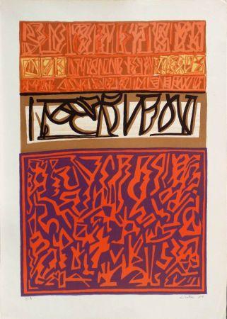 Lithographie Licata - Sans titre