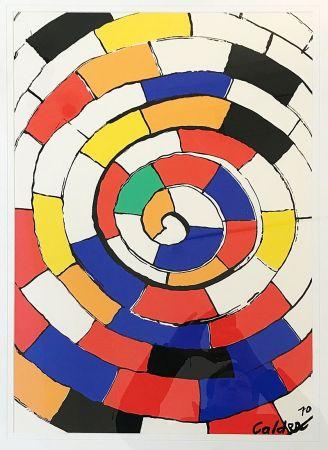 Lithographie Calder - Sans Titre