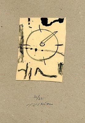 Lithographie Texier - Sans titre