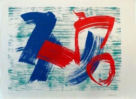 Lithographie Schneider - Sans Titre