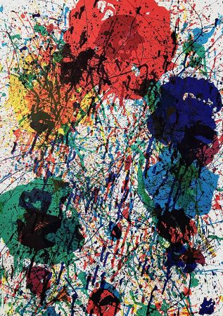 Lithographie Francis - Sans Titre (c. 1970)