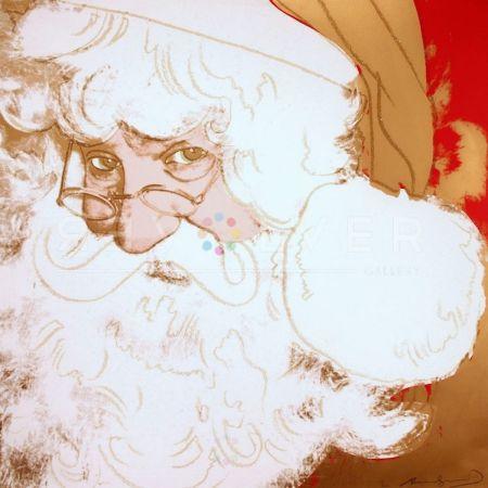 Siebdruck Warhol - Santa Claus (FS II.266)