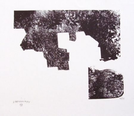 Lithographie Chillida - Sapai