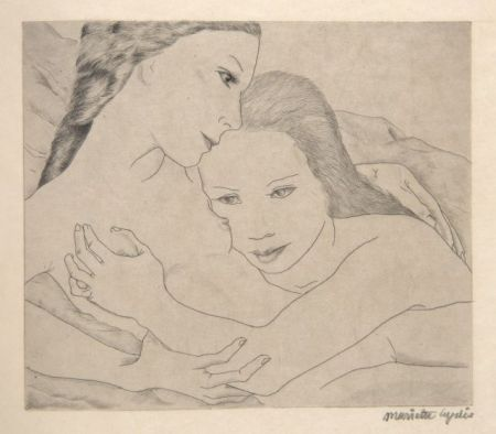 Illustriertes Buch Lydis - SAPPHO (ΣΑΠΦΩ). Poèmes. 16 gravures originales signées (1933).
