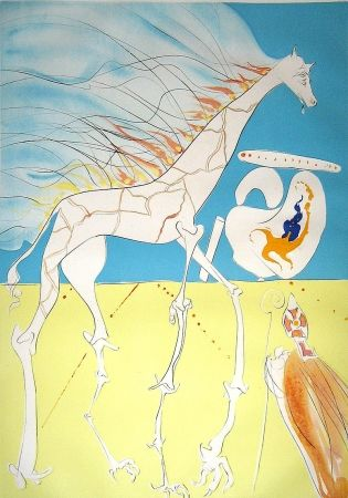 Stich Dali - Saturnian Giraffe