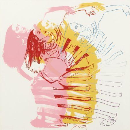 Siebdruck Warhol - Satyric Festival Song Unique