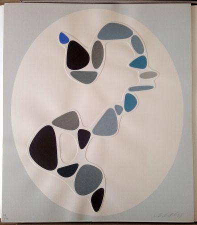 Keine Technische Vasarely - Sauzon (Belle Isle) - Collage
