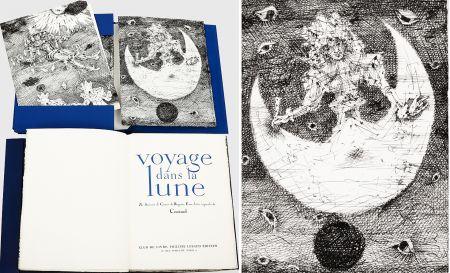 Illustriertes Buch Coutaud - Savinien CYRANO DE BERGERAC : VOYAGE DANS LA LUNE. Eaux-fortes originales de Coutaud.