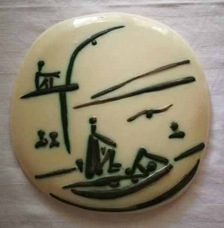 Keramik Picasso - Scene de plage