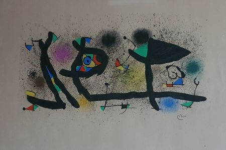 Lithographie Miró - Sculptures (III)