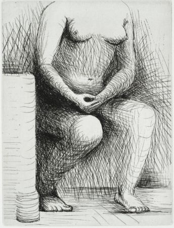 Stich Moore - Seated Figure