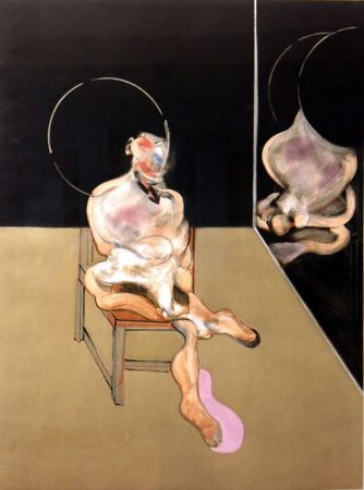 Stich Bacon - Seated figure