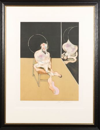 Aquatinta Bacon - 'Seated Figure'