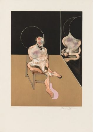Aquatinta Bacon - Seated Figure 1983