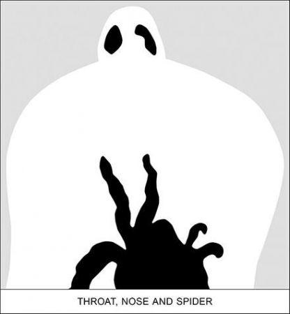 Digitale Druckgrafik Baldessari - SEDIMENT: THROAT, NOSE AND SPIDER