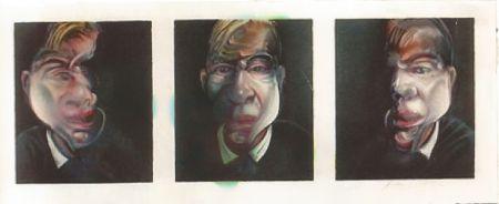 Lithographie Bacon - Self-portrait