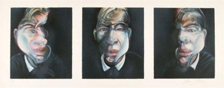 Lithographie Bacon - Self-Portrait  Tryptique