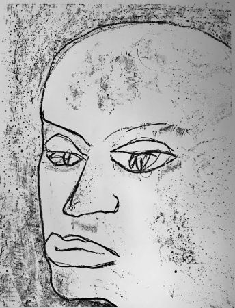 Lithographie Francis - Self Portrait