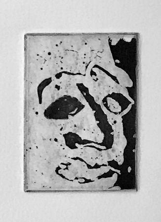 Aquatinta Francis - Self Portrait