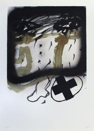 Lithographie Tàpies - Senanque I