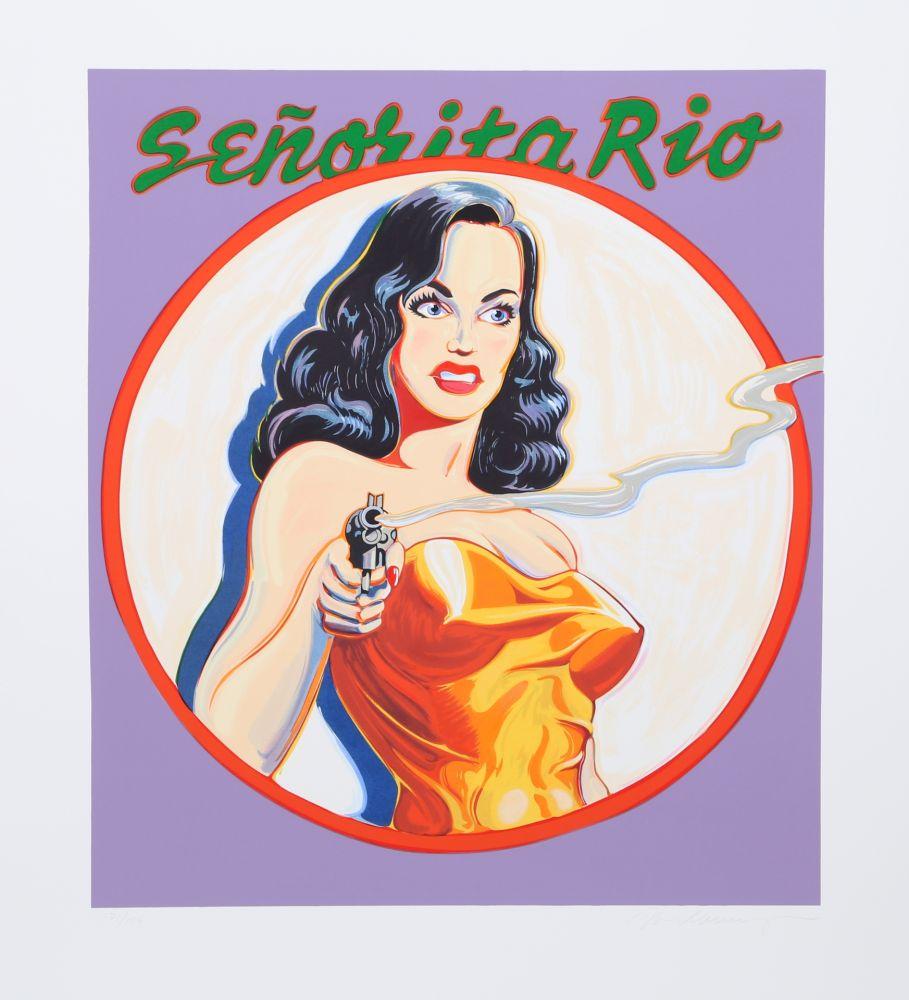 Lithographie Ramos - Senorita Rio