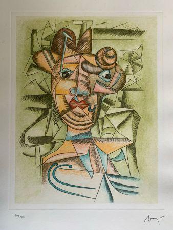 Lithographie Baj - Senza titolo
