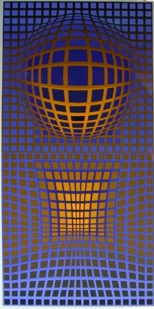 Lithographie Vasarely - Senza Titolo
