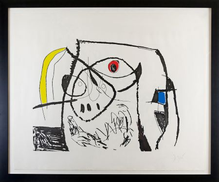 Stich Miró - Serie Mallorca Plate XII