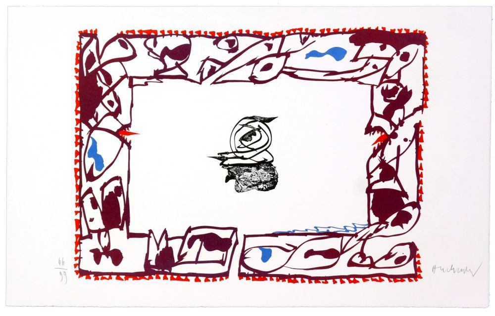 Lithographie Alechinsky - Set de Table