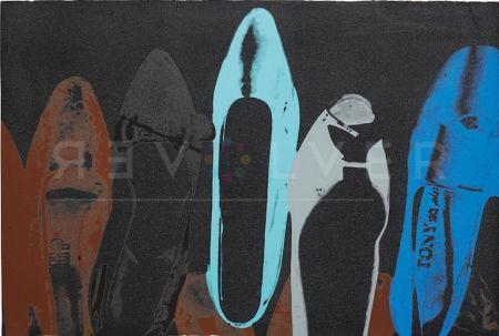 Siebdruck Warhol - Shoes (Deluxe Edition) (Fs Ii.252)