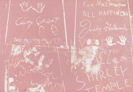 Siebdruck Warhol - Sidewalk (FS II.304)