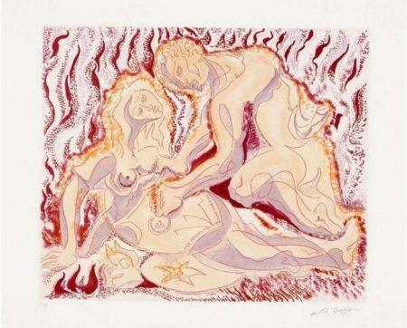 Radierung Und Aquatinta Masson - Siegfried und brunhilde