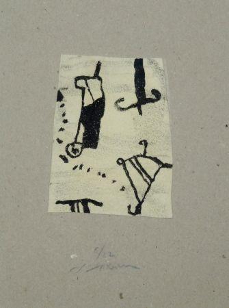 Lithographie Texier - Signes